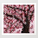 :: Pink Canopy :: Art Print