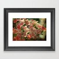 Cute Flowers Framed Art Print