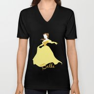 Belle From Beauty And Th… Unisex V-Neck