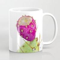 Prickly Pear Cactus Fruit Mug