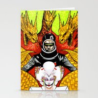 The Final Golden Dawn of X Stationery Cards