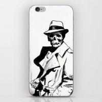Skeleton Expatriate iPhone & iPod Skin