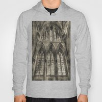 Rochester Cathedral Stained Glass Windows Vintage Hoody