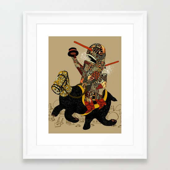 Hooray Framed Art Print
