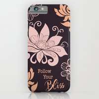 iPhone & iPod Case featuring Follow Your Bliss by Sweet Mango