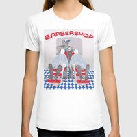 T-shirt featuring Barbershop by Mexican Zebra