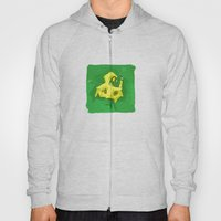 Three yellow Pentagons Hoody