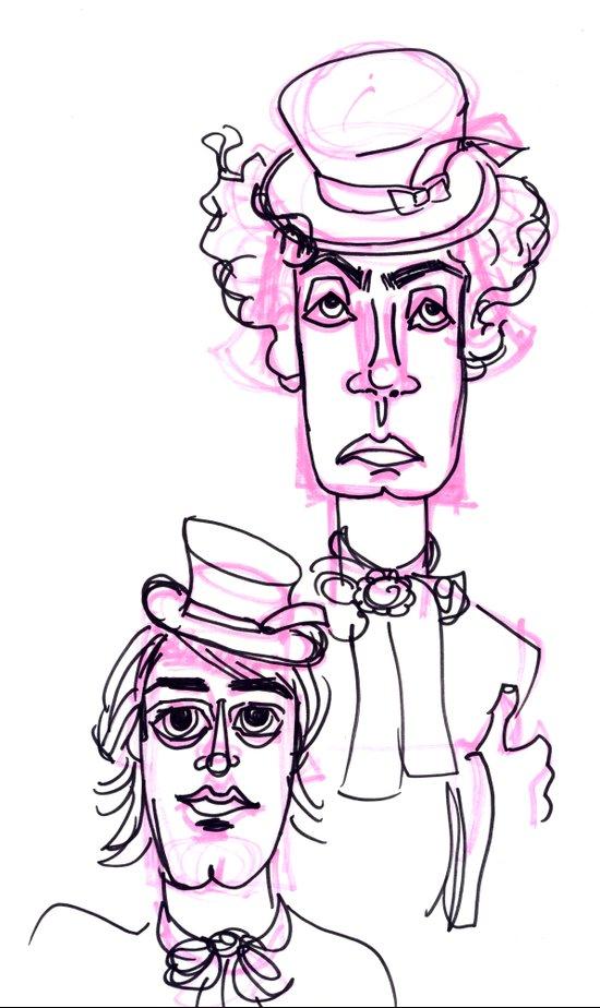 Hatters  Art Print