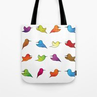 Humming Birds Tote Bag