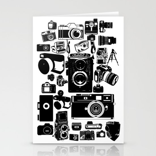 Cameras Stationery Card