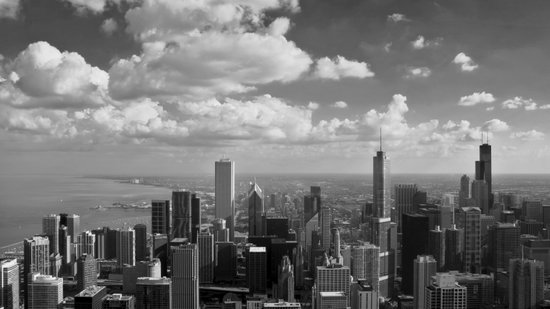 chicago... Art Print