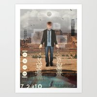 Trailing Memory Art Print