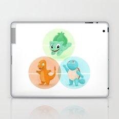 Poké: choose your starter Laptop & iPad Skin
