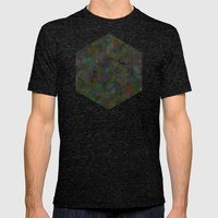 Panelscape - #7 society6 custom generation Mens Fitted Tee Tri-Black SMALL