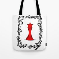 Red Queen Tote Bag