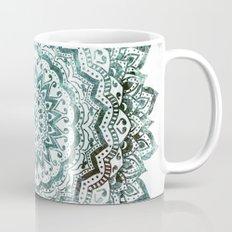 Emerald Jewel Mandala Mug