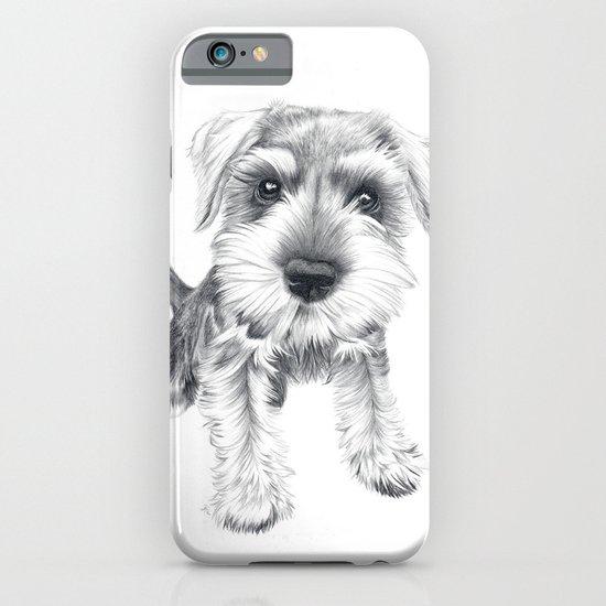 Schnozz the Schnauzer iPhone & iPod Case