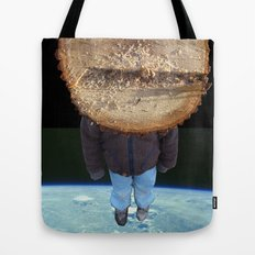 Lost in Space Collage Tote Bag