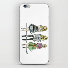 Fashion Illo Trio iPhone & iPod Skin