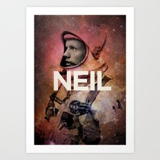 Neil. Art Print
