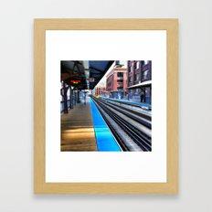 Wait Framed Art Print