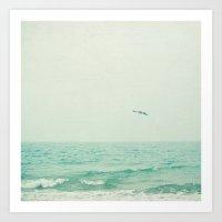 Lone Bird Art Print