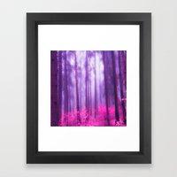 Fairy Tale (Pink) Framed Art Print
