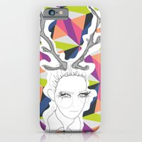 iPhone & iPod Case featuring Antler. by LisaStannard