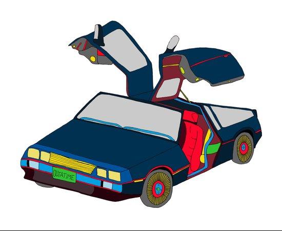 Cool Boys Like Flying Cars Art Print