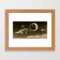 Dream Drifters III Framed Art Print