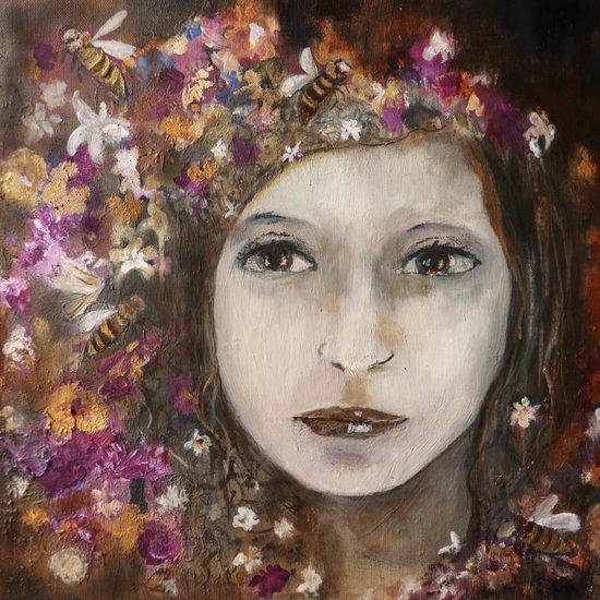 one Girl Art Print