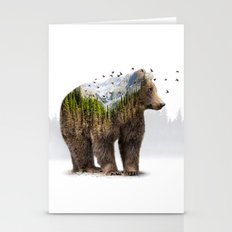 Wild I Shall Stay | Bear Stationery Cards