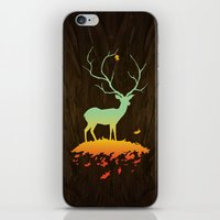 Fawn and Flora iPhone & iPod Skin