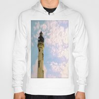 Cloudy at the Lighthouse Hoody