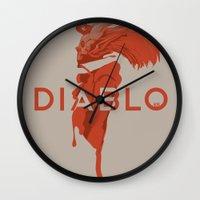 DIABLO409 Wall Clock
