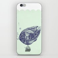 Floating Fish iPhone & iPod Skin