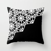 Frozen Stars Throw Pillow