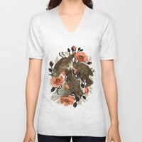 Spangled & Plumed Unisex V-Neck