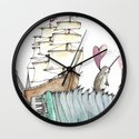 Accordion Sea Wall Clock