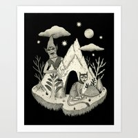 Not Alone Art Print