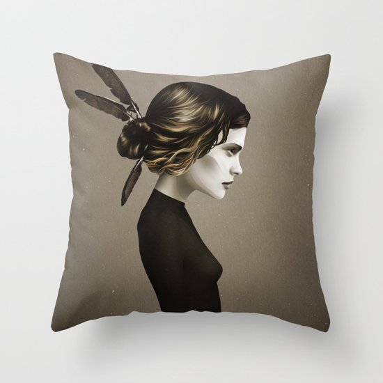 This City (Alternative) Throw Pillow