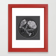 Imperial Walker AT-AT Baby Framed Art Print