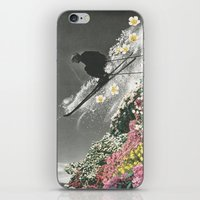 Spring Skiing iPhone & iPod Skin