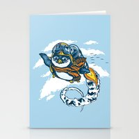 Migrating South Stationery Cards