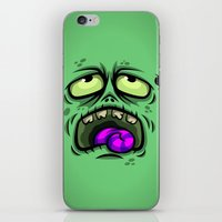 ZOMBIE HORROR iPhone & iPod Skin
