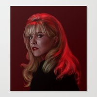 Laura Palmer from Twin Peaks Canvas Print