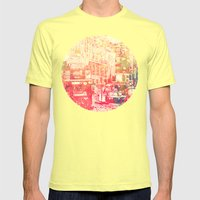 Street of London2 Mens Fitted Tee Lemon SMALL