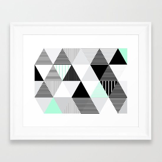 Drieh Framed Art Print