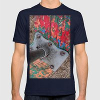 Merry-Go-Round Mens Fitted Tee Navy SMALL