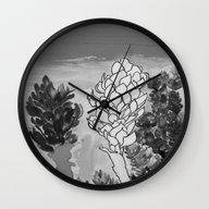 Alpinia Purpurata – Re… Wall Clock